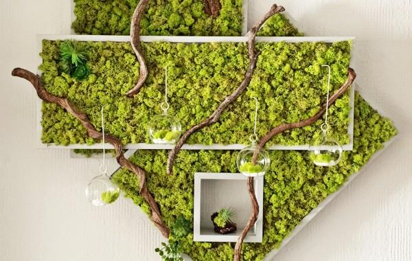 """Spring Green"" DIY creative Ambienteleuchte"
